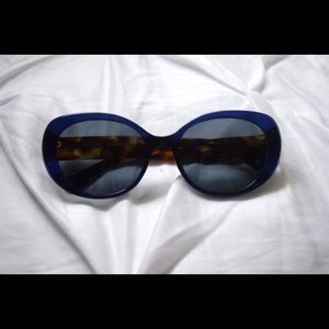 Coach Sunglasses Navy/Tortoise shell Women's Wide